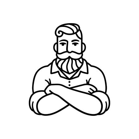 6,418 Crossed Arms Stock Illustrations, Cliparts And Royalty Free.
