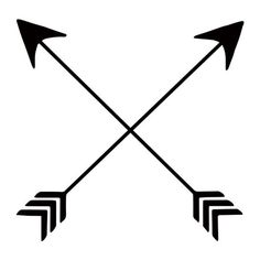 Crossed arrow clipart 6 » Clipart Station.