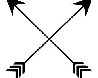 Crossed arrow clipart 2 » Clipart Station.