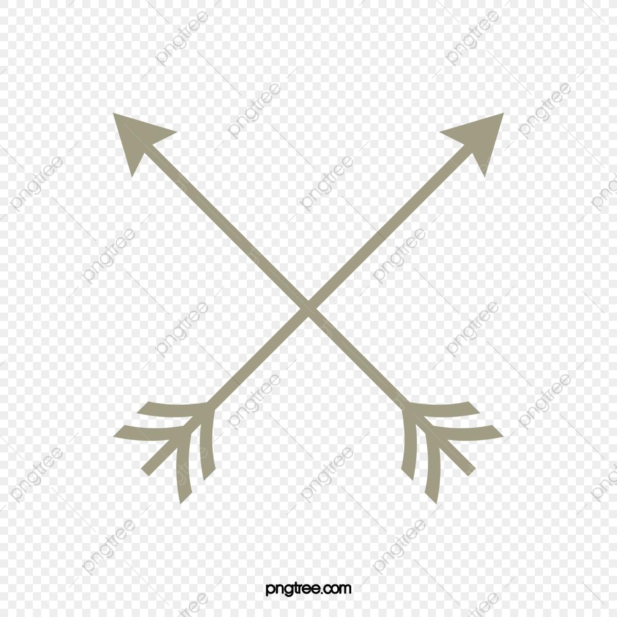 Arrow, Cartoon Arrow, Crossed Arrows, Hand Drawn Arrows PNG.
