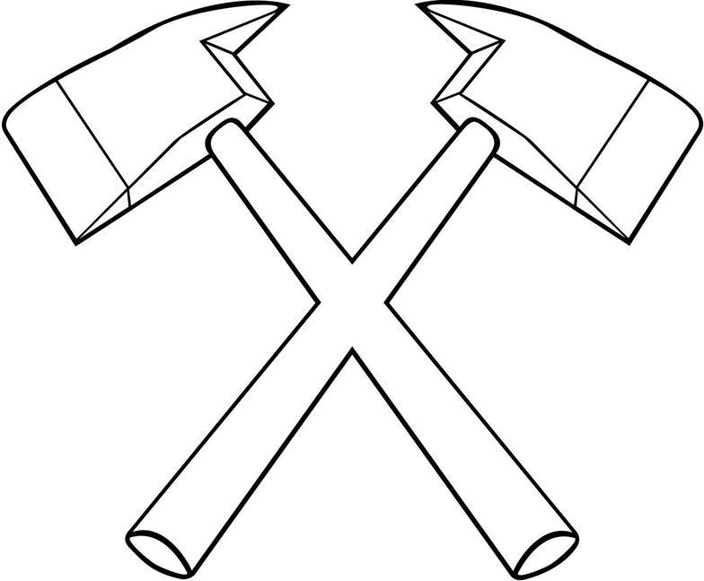 Crossed axes clipart » Clipart Portal.