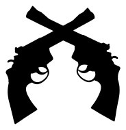 Guns crossed clipart 5 » Clipart Portal.
