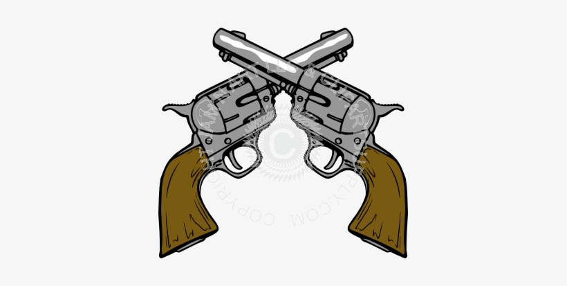 Wood Grain Clipart Illustration Free Crossed Guns Clipart.