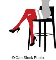 Crossed legs Clipart and Stock Illustrations. 750 Crossed legs.