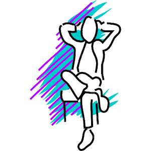 Legs Crossed 3 clipart, cliparts of Legs Crossed 3 free download.