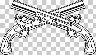 3 crossed M16 PNG cliparts for free download.