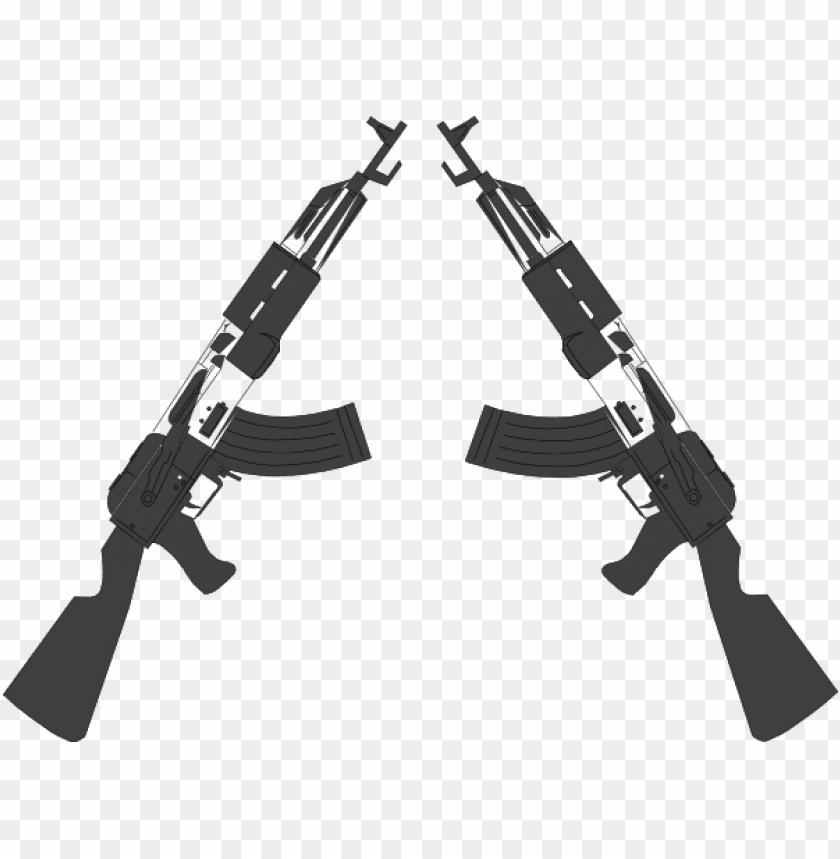 crossed rifles png.
