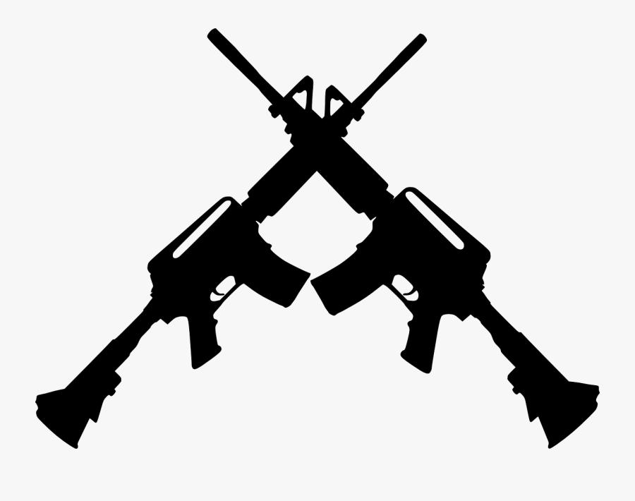 Free Crossed Pistols Png.