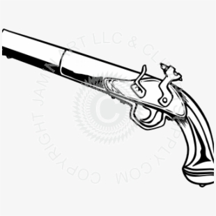 Pistol Clipart Pirate.