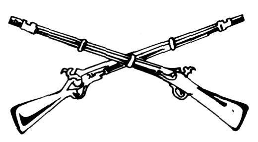 Free Crossed Rifles Png, Download Free Clip Art, Free Clip.