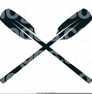 Clipart Crossed Oars.