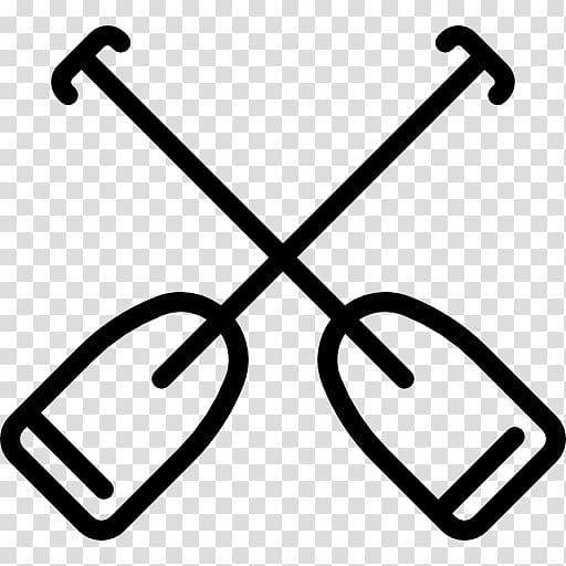 Computer Icons , Crossed paddles transparent background PNG.