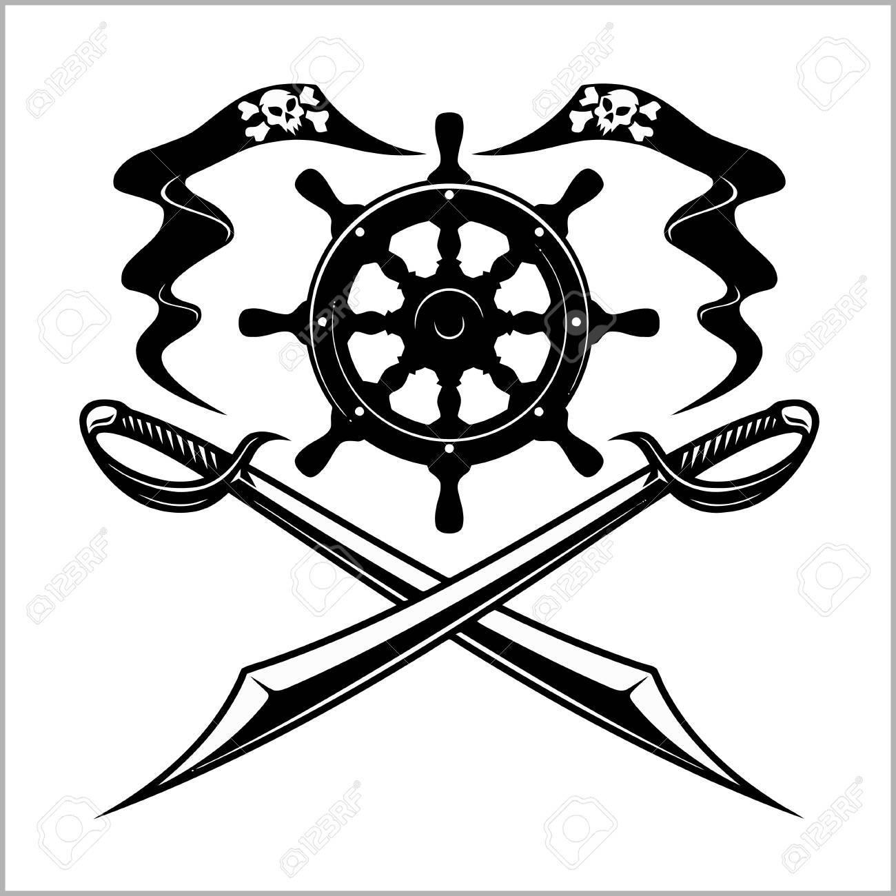 Pirates emblem.