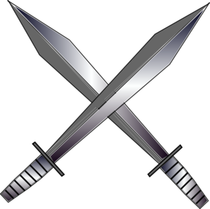 Cross Swords Clip Art at Clker.com.