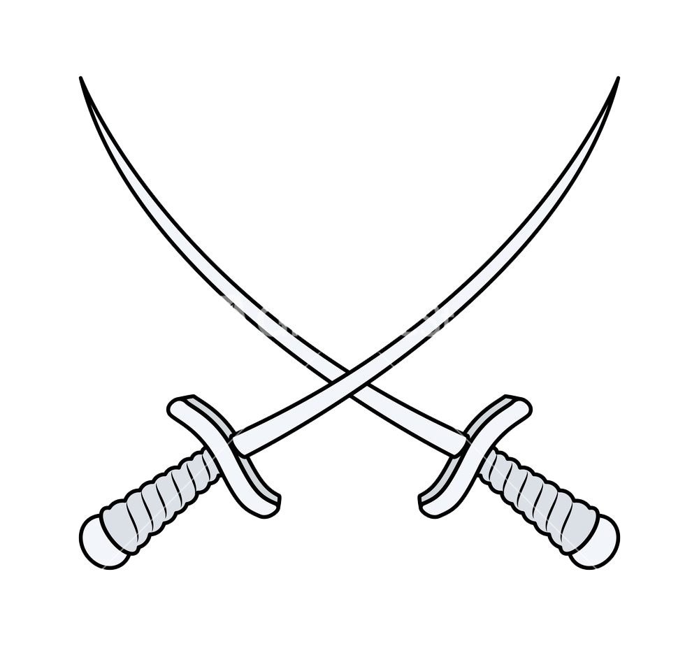 Cross Sword PNG File.