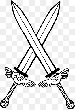 Crossed Swords Png, Vector, PSD, and Clipart With Transparent.