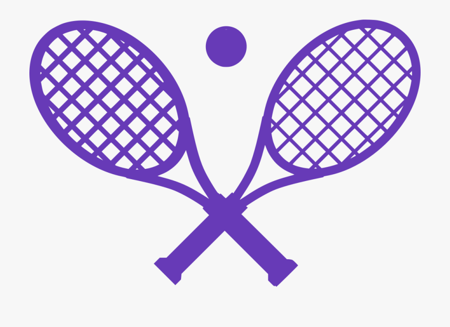 Crossed Tennis Rackets Clipart , Transparent Cartoon, Free.