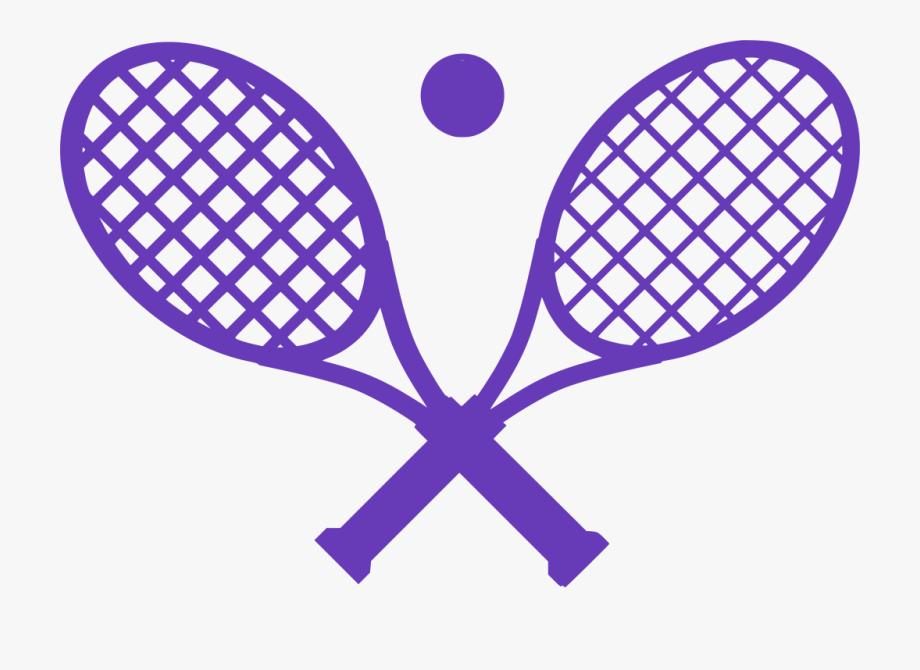 Crossed Tennis Rackets Clipart , Transparent Cartoon, Free.
