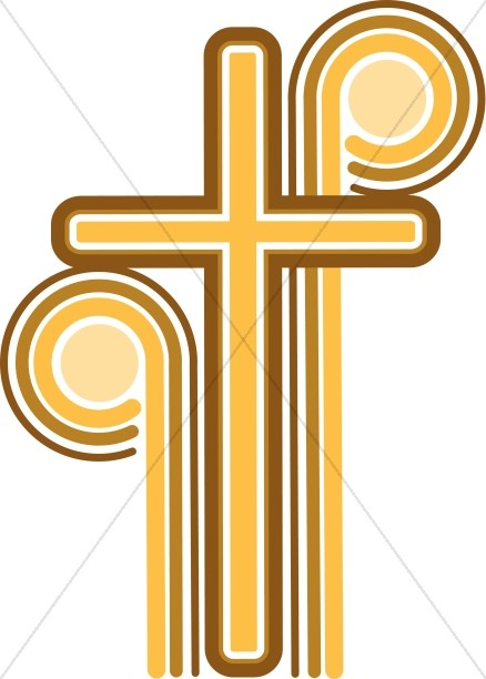 Crosses clipart #11