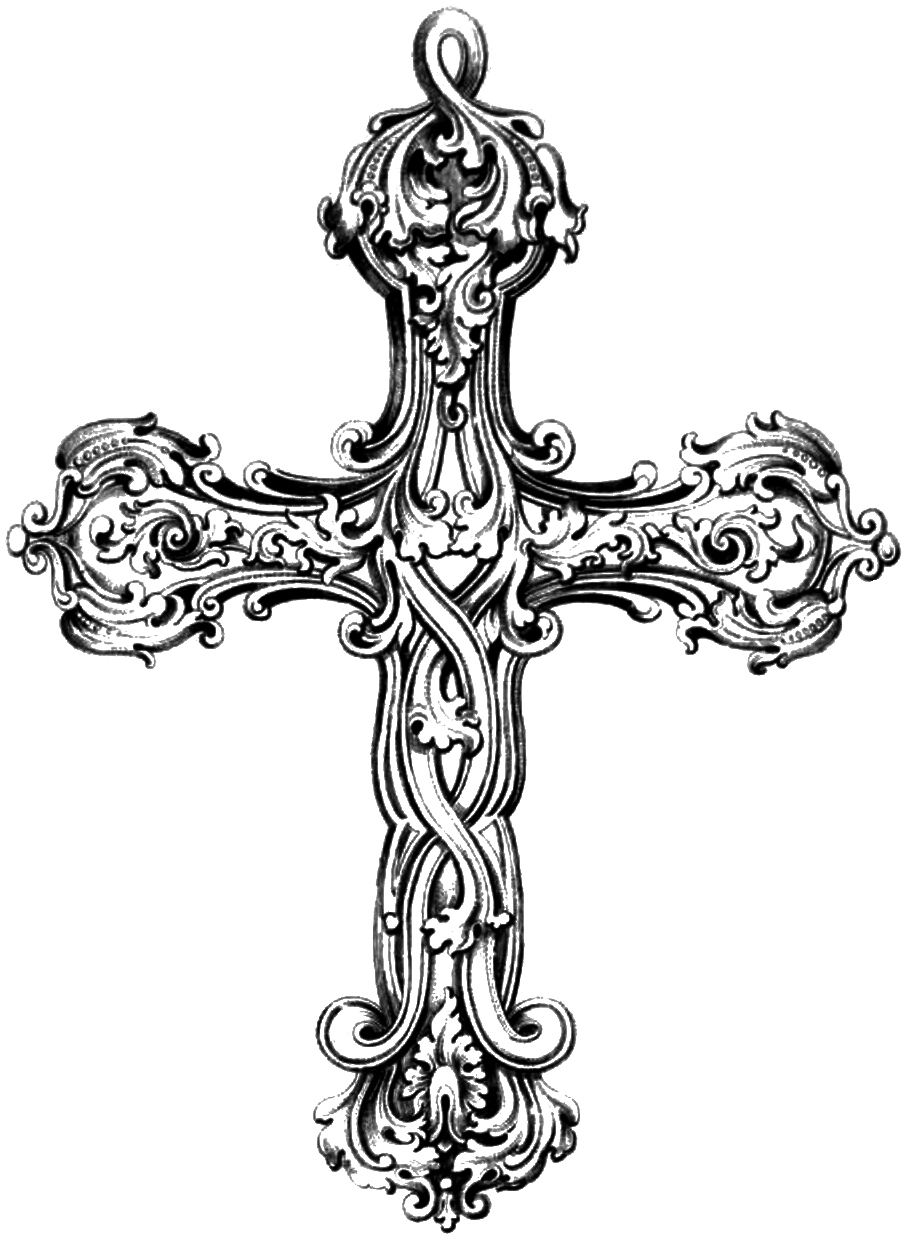 Crosses clipart #20