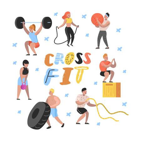 2,061 Crossfit Stock Illustrations, Cliparts And Royalty Free.