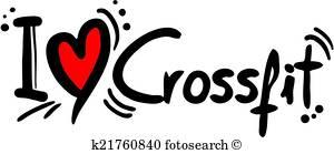 Crossfit Clip Art Vectors.