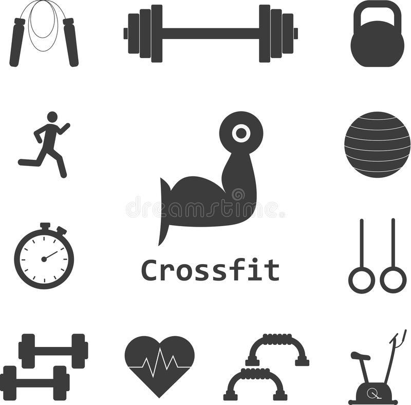 Crossfit Stock Illustrations.