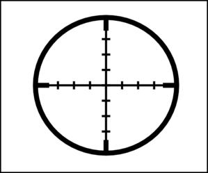 Crosshair Clipart.