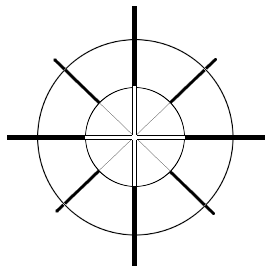 crosshair clipart #canstock12879491.