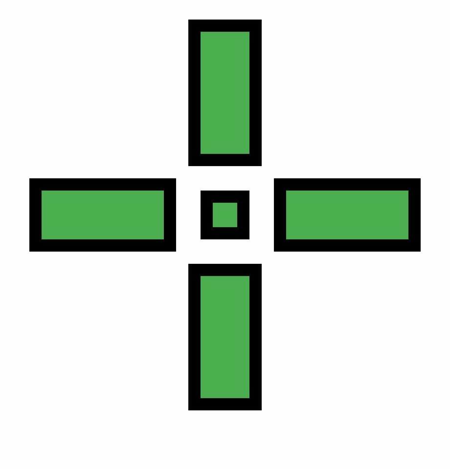 Green Crosshair Png, Transparent Png (1430482 ).