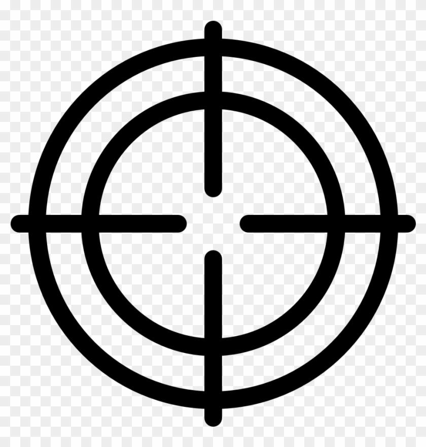 Crosshair Circle Target.