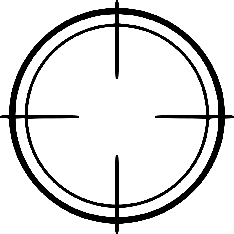 Crosshair Svg Png Icon Free Download (#465471).
