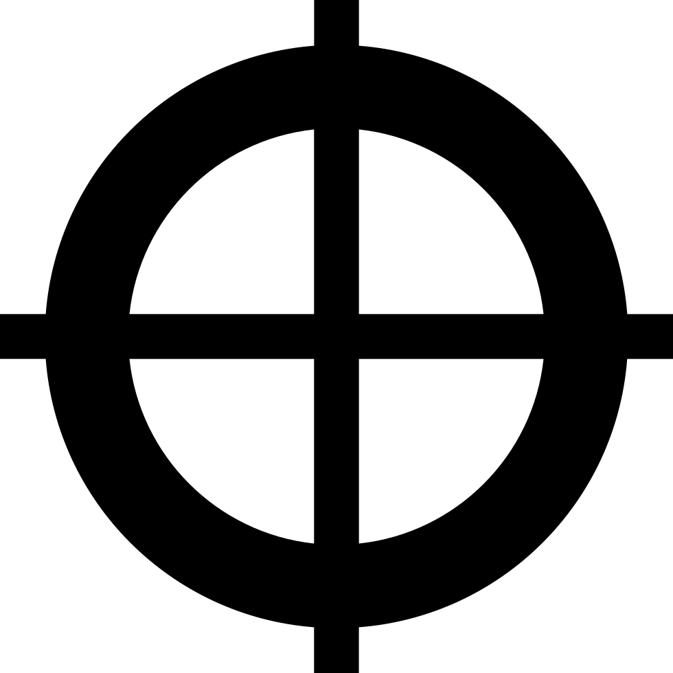 Crosshair Svg Png Icon Free Download (#209445).