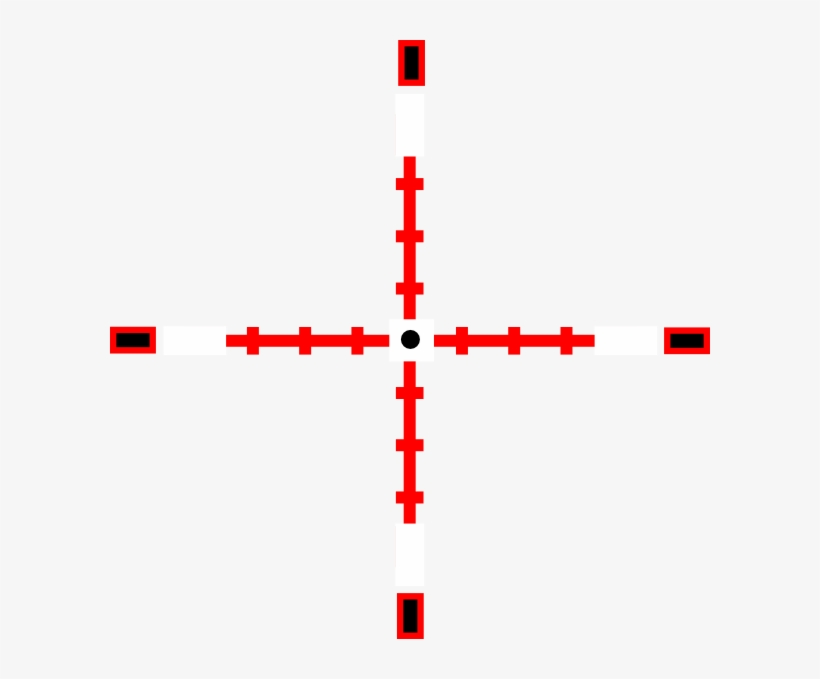 Red Crosshairs Png Vector Free Download.
