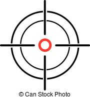 Crosshairs clipart #15