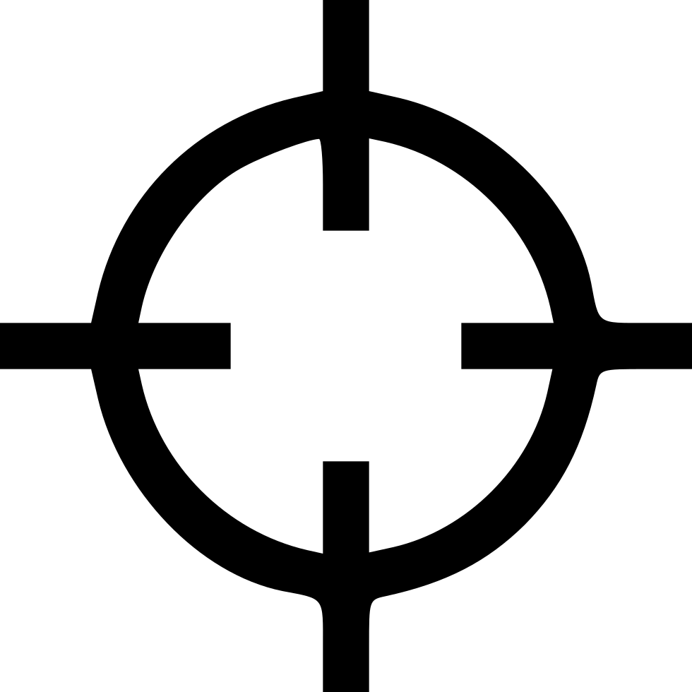 Crosshairs Svg Png Icon Free Download (#515638).