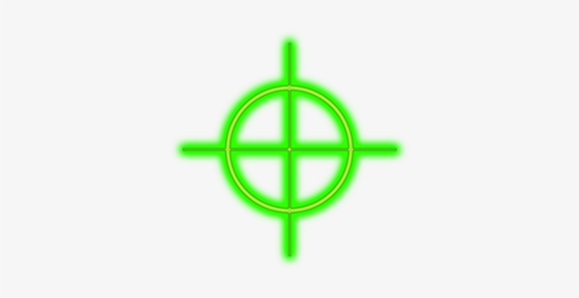 Png Crosshairs Green.
