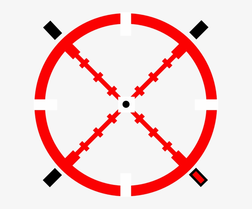 Red Crosshairs Png.