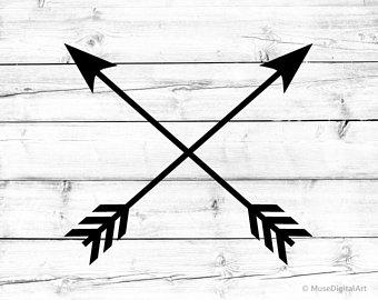 Crossed arrows.