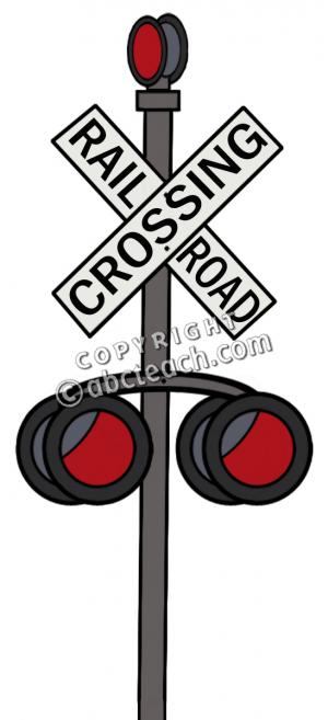 Railroad Crossing Clipart.