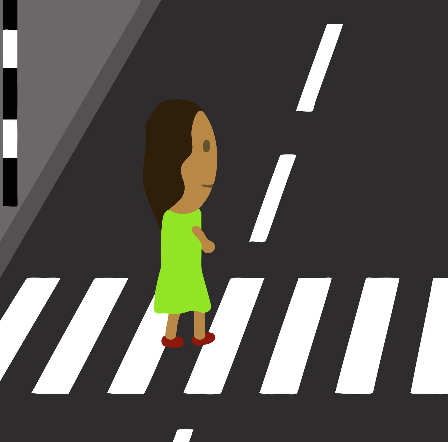 Zebra crossing clipart.