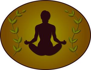 Yoga Clipart Image.