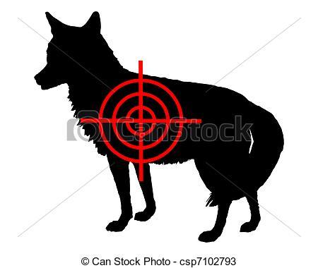 Vectors of Coyote crosslines csp7102793.