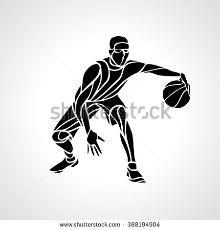 Basketball Player Vector Illustration Stock Vector 1657646.