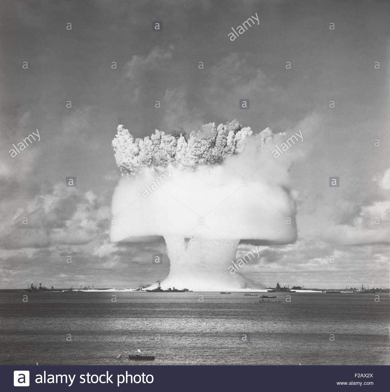 an analysis of the atomic bombs and the operation crossroads