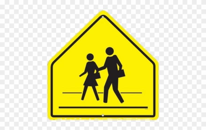 Railroad Clipart Crosswalk Sign.