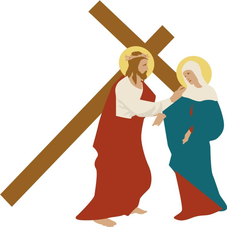 Way Of The Cross Clipart.