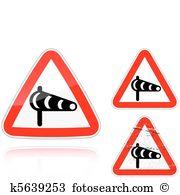 Crosswind Clip Art Illustrations. 10 crosswind clipart EPS vector.