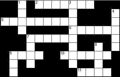 Crossword Puzzle Clipart.