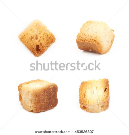 Croutons Stock Photos, Royalty.